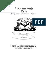 Program Kerja Osis