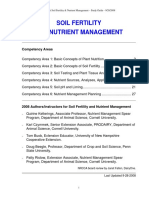 Soil Management Nutrient