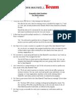 FAQ John Maxwell