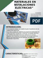 Power Materiales en Instalaciones Eléctricas