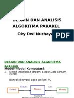Desain Dan Analisis Algoritma Pararel