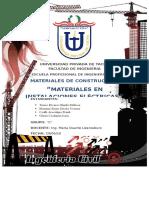 Materiales en Ins. Electricas Grupal