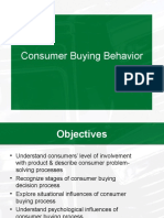 Consumer Behavior and Process