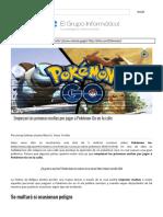 Empiezan Las Primeras Multas Por Jugar a Pokémon Go en La Calle