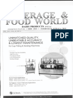Beverage and Food World Scope of Whey Processing