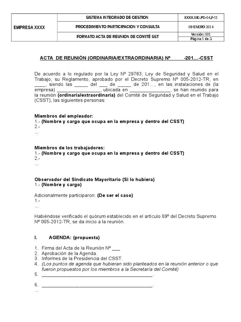 pg 04f 11 formato acta reunion comite