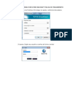 Procedimentos Para Executar Backup Folha de Pagamento