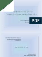 Competencias Generales-guía Del Estudiante y Anexo de Ortografía