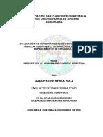 Evaluacin de Cinco Variedades y Dos Hbridos de Cebolla Allium Cepa l en Dos Localidades Del Departamento d