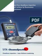 CleanoSpector Product Brochure