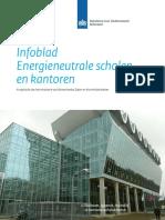 infoblad energieneutrale scholen en kantoren - juni 2013