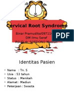Cervical Root Syndrome RM Bibin