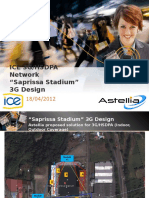 Rec#3 Saprissa Stadium 3G_HSDPA Design