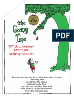 Giving Tree 50th Event Kit Activity Booklet