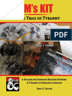 DM's Kit - On the Trail of Tyranny