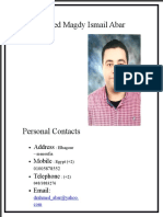 Dr Ahmed Abar CV