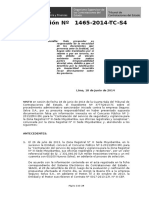 Mejor Para Exposicion Sancion en Licitaciones 01465-2014