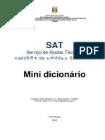Mini Dicionário Ilustrado de LIBRAS