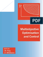 ( ) Multiobjective Optimisation and Control