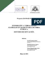 Exposición a Vibraciones Globales en Maquinaria de Obra Pública, Estudio de Situación - José M. Santurio Díaz, Amanda Ferrera Cuervo (Subido por Williams Lillo).pdf