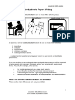 Teach Yourself Introduction to Report Writing
