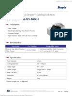 (n)Ds210301 Fiber Cleaver (Ls Fcv Tool i)
