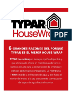 TYPAR HouseWrap - Folleto Español