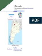 Provincia de Tucumán