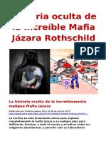 Historia oculta de la increíble Mafia Jázara Rothschild