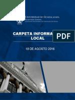 Informativo de análisis de la Universidad de Guadalajara