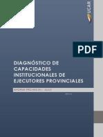 Diagnósitico de Capacidades Institucionales - Jujuy