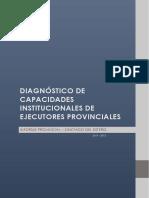 Diagnósitico de Capacidades Institucionales - Santiago Del Estero