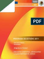 Programa Educación Ambiental Jalisco