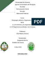 Trabjo de Piscologia Actitudes en El Trabjo (3)