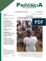 Noticias de La Provincia Junio de 2016