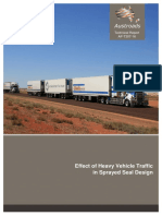 AP-T307-16 Effect of Heavy Vehicle Taffic in Sprayed Seal Design
