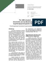 The ADM reloaded -  Forschungsimpact lacanianisch-psychoanalytischer Paradigmen
