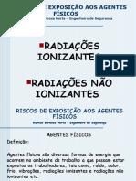 Agente Fc3adsico Radiac3a7c3b5es Ionizantes e Nc3a3o Ionizantes