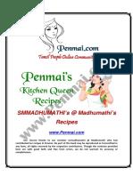 Madhumathi's Recipes PDF - Penmai's Kitchen Queen
