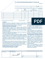 Anexo 30 - Formato de Reposición de Equipos