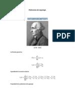 Polinomios de Lagrange