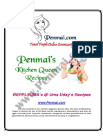 Uma Uday Recipes PDF - Penmai's Kitchen Queen