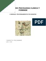 II Modulo Psicologia Clinica y Forense Revisado