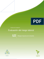 Unidad2.Riesgosmayoresenlaindustria