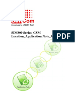 SIM800 Series GSM Location Application Note V1.01