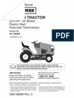 1502298L Craftsman 917.20403 Garden Tractor User Manual