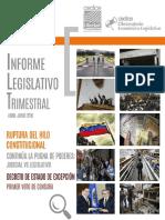 CEDICE - Informe Legislativo Trimestral Abril-Junio 2015