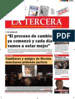 Diario La Tercera 23.08.2016