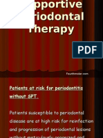 Supportive Periodontal Therapy Perio