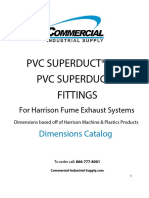 Pvc Duct Dimensions